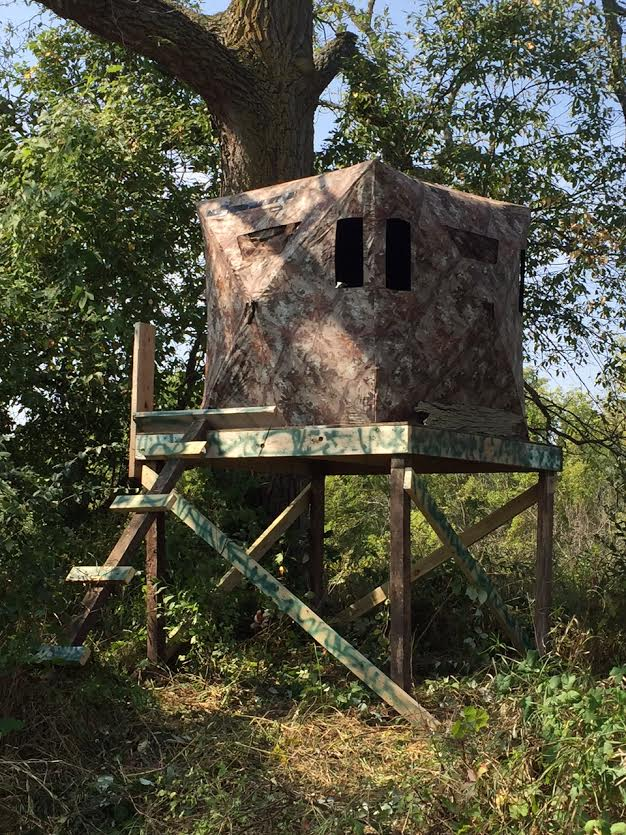 Looking To Build An Elevated Platform For Ground Blind Or