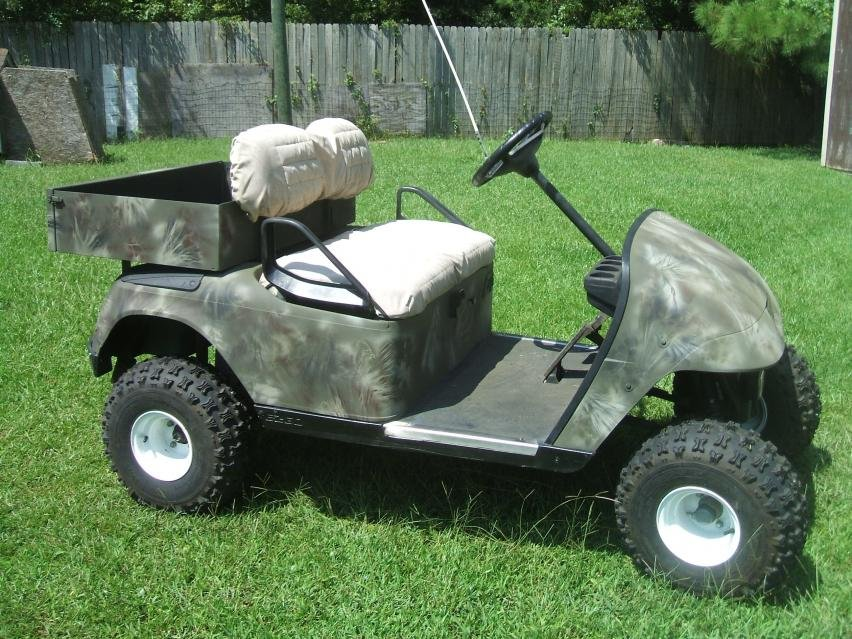 Electric or gas hunting cart? on