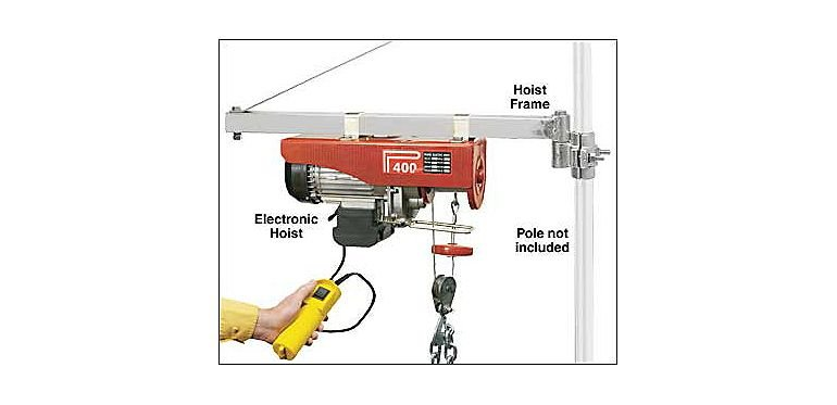 Bought a Cabela\'s Electronic Cable Hoist today...users of Electric ...