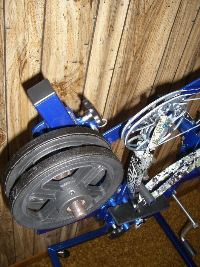 fabrication d'une presse d'arc Attachment