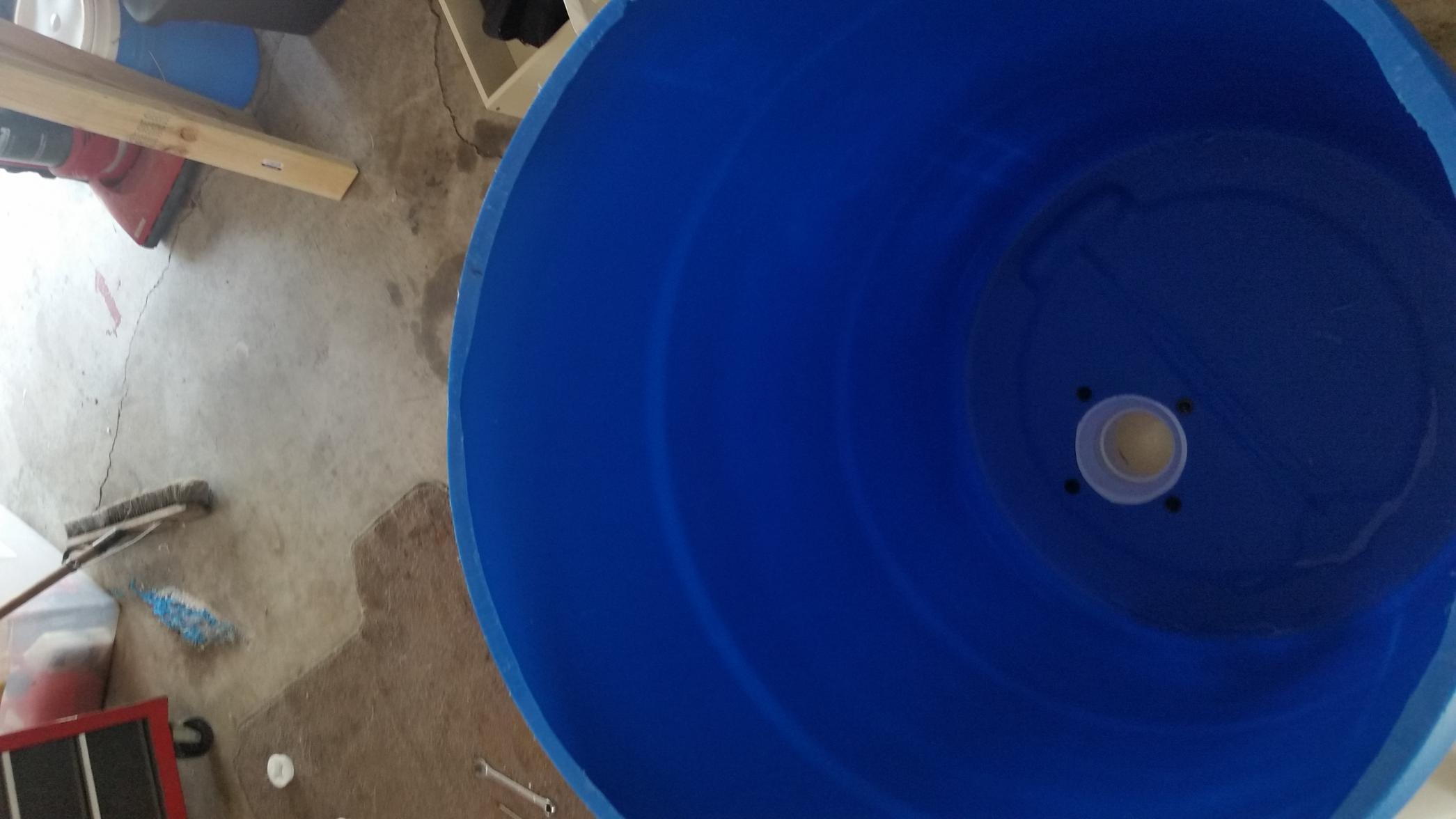 Homemade DEER FEEDER 55 gallon drum - I
