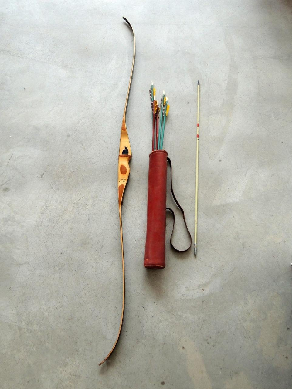Need help appraising an Indian Archery recurve bow + arrows