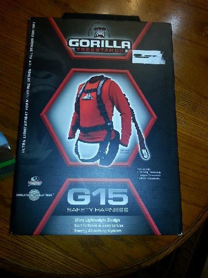For Sale Gorilla g15 tree stand safety harness
