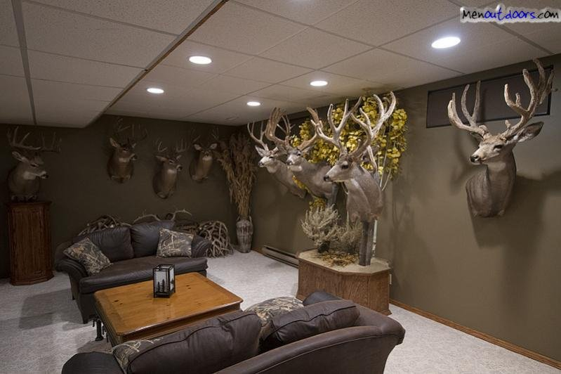 Hunters Man cave Ideas on