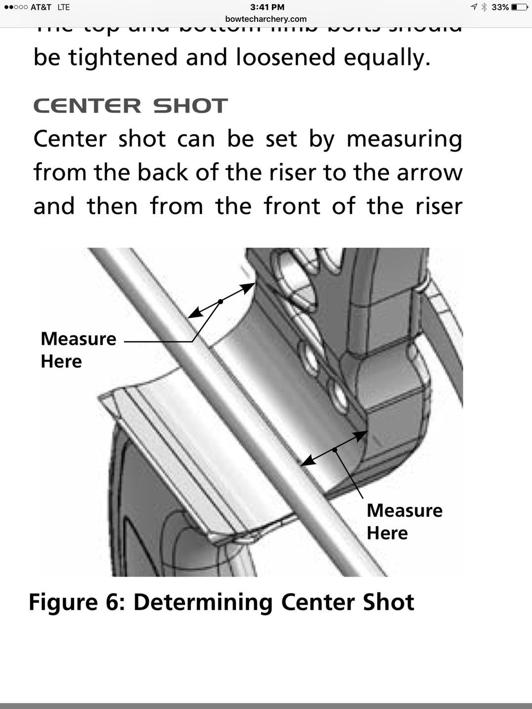 Center shot PSE Attachment