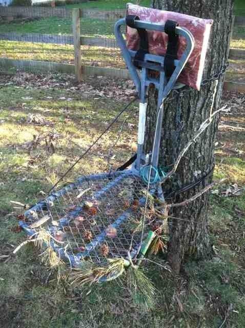 Diy Treestand Branch Holders Let See Em