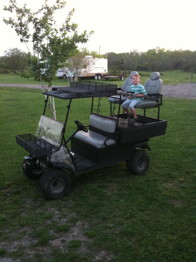 golf cart to hunting buggy ideas