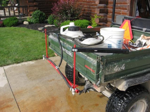 ATV sprayer and DIY boom
