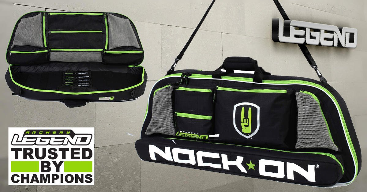 2-Day PROMO Bow Case NOCK ON by LEGEND / 15% OFF + FREE Shipping
