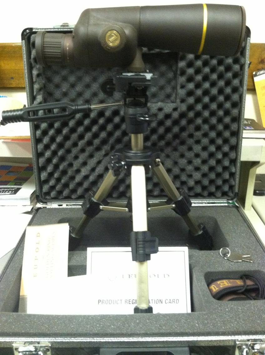 For Sale or Trade Leupold Gold Ring pact Spotting Scope Kit