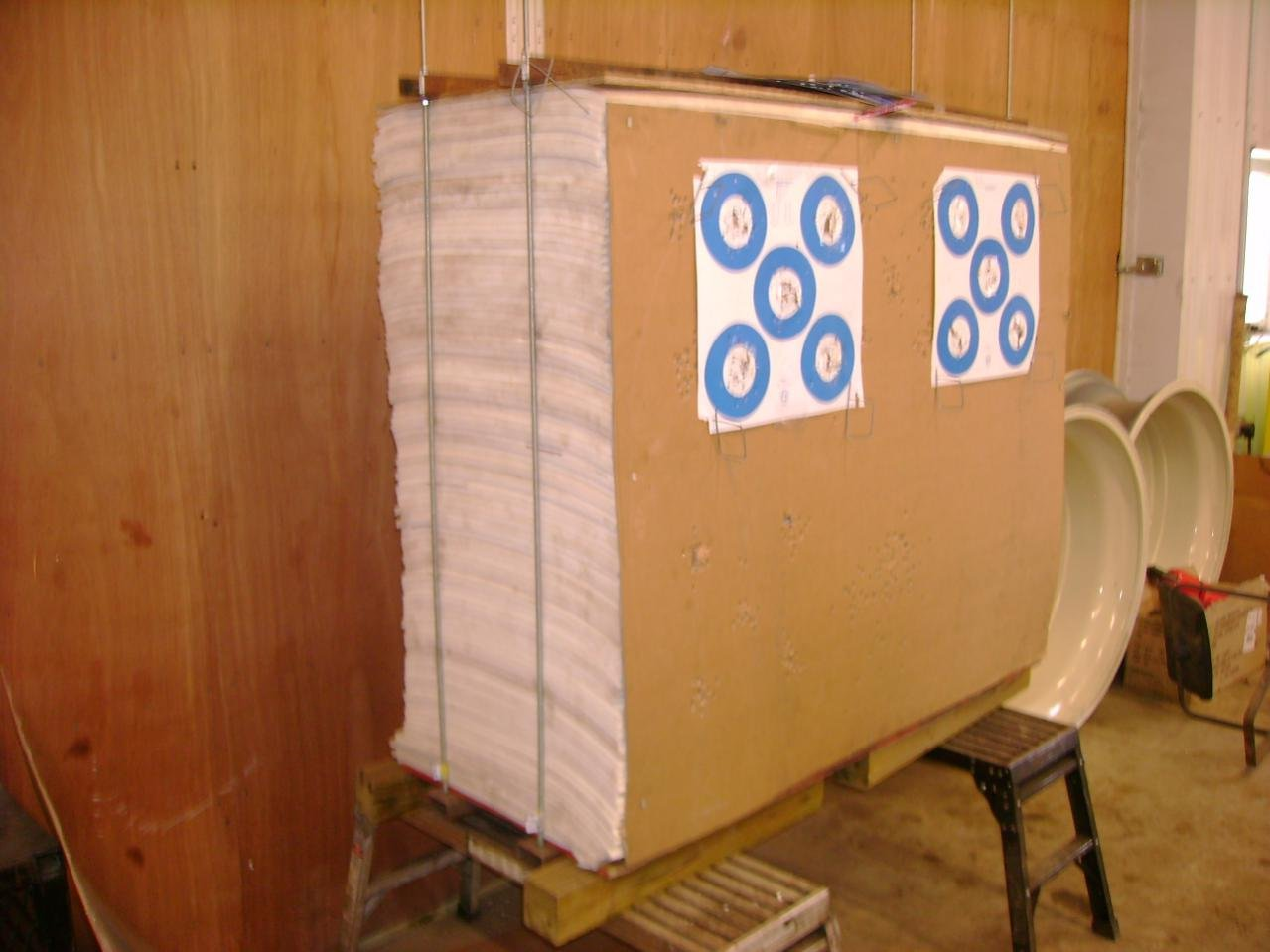 DIY Stacked Foam Target